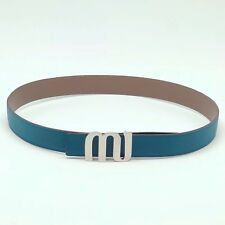 Handmade 32mm reversible Leather Belt compatible branded buckle Free Shipping