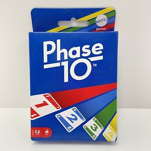 NEW- Phase 10 Card Game Mattel Games