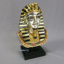 TUTANCHAMUN BÜSTE ÄGYPTEN ÄGYPTISCHE KÖNIG PHARAO DEKO FIGUR STATUE NEU SKULPTUR