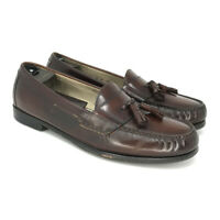 Cole Haan Country Men's Brown Leather Loafers Shoes Size 11 D Slip On Tassel