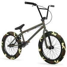 """Elite BMX 20"""" Destro Bicycle Freestyle Bike 3 Piece Crank Army Camo 2020"""