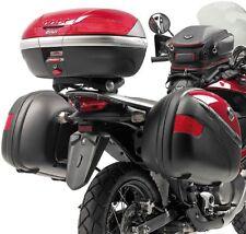 Motorradkoffer Für Bauletto Givi für Motorrad E225 Transalp '08 Schwarz