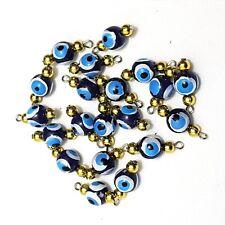 Nazar Boncuk Trükisches Ojo Azul Göz Amuleto de la Suerte Perlas Colgante Tinker