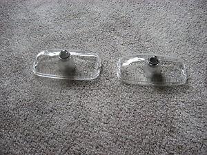 1966-67 gto parking lamp lens set of 2
