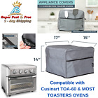 """Counter Top Toaster Convection Oven Cover Airfryer Storage Pocket Case 17"""" x 15"""" photo"""