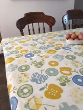 'Bramley Azure' Table Cloth in Prestigious Fabric 100% Cotton