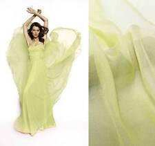 4 Yards silk chiffon fabric 140cm wide Sheer BABY MAIZE YELLOW Online Sale #72