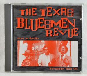 The Texas Bluesmen Revue - Live in Berlin / European Tour 1995 - CD - Lingo Rec.
