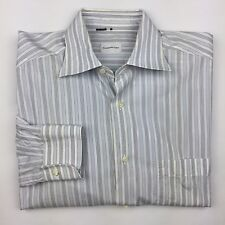 Nice Mens Ermenegildo Zegna Luxury Dress Shirt Stripes Turkey 39 15 1/2 $325