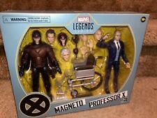 Hasbro Marvel Legends MAGNETO & PROFESSOR X XAVIER 2 Pack X-Men Movie NIB