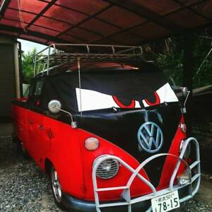 VW Split Screen original Bus Eyes screen cover / wrap Angry Buseyes blind