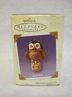 Hallmark Zephyr Owl Halloween Keepsake Ornament 2003