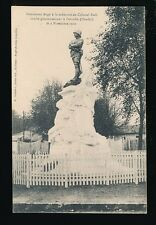 France Vitry-le-Francois Monument de Colonel Moll killed fighting in Chad PPC