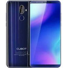 Teléfonos móviles libres azul Cubot X18 con 64 GB de almacenaje