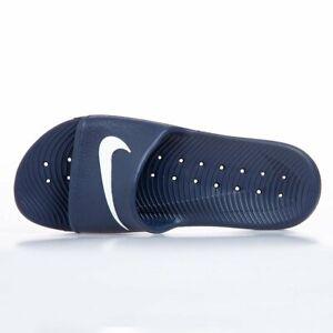 Men's Nike Kawa Shower Flip Flops Beach Sandals Sliders Slip Navy 832528 400