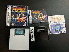 Magical Quest Starring Mickey and Minnie Mouse Game Boy Advance NRMT- COMPLETE!