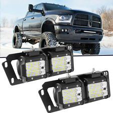 "For 2010-2018 Dodge Ram 2500/3500+4""inch 324W LED Fog light Bar+Mounting Bracket"