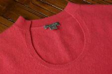 ANN TAYLOR CASHMERE Tank top Women's Short Sleeve Top Pullover PINK sz XS