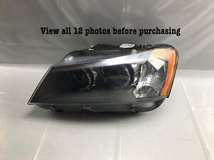 2011 2012 2013 2014 BMW X3 Left Driver Side Xenon HID Headlight OEM