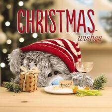 ME TO YOU CHRISTMAS WISHES 3D HOLOGRAM CHRISTMAS CARD TATTY TEDDY BEAR NEW