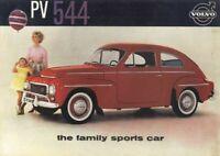1961 Volvo PV 544 Spec Sheet