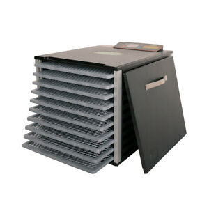 Valley Sportsman 1ADS114 750W 10 Tray Meat and Vegetable Home Food Dehydrator