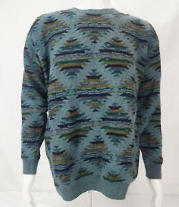Barneys New York Long Sleeve Pullover Sweater Multicolor Men's S