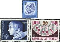 Österreich 1596,1597,1598 (kompl.Ausg.) postfrisch 1978 Freimarken