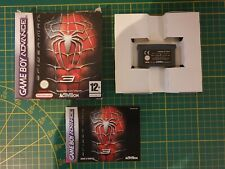 GAME BOY GAMEBOY ADVANCE GBA BOXED BOITE AMAZING SPIDER-MAN 3 AGB-BX3P-FRA