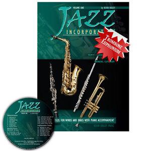 Jazz Incorporated Vol 1 for Trombone Euphonium Book CD Sheet Music Kerin Bailey