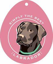 Chocolate Labrador Sticker 4×4″