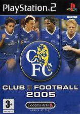 Chelsea Club Football 2005 PS2 (PlayStation 2) - Free Postage - UK Seller