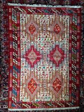 Persian Small SILK Carpet Rug New Condition Handmade