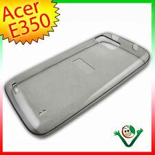 Schutzhülle perfect fit für Acer liquid GALLANT E350 Schwarz Rauchglas Duos Duo