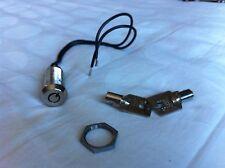Switch lock key single pole SPST Arcade Amusement Security Alarm Shutter Garage