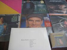 JAMES TAYLOR COLLECTION LIMITED 180 GRAM + RARE COVERS & HITS VINYL 7 LP SET