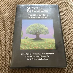 Hypnotherapy For A Millionaire Mind CD Success Motivation By Success Resources