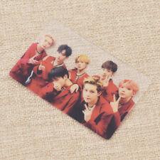 Kpop MONSTA X Members Transparent Photo Card Photocard Fanmade Unisex Gift