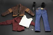 in stock 1/6 model X-Men Wolverine Hugh Jackman clothes suit for Hot Toys TTM21