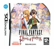 Final Fantasy Crystal Chronicles: Ring of Fates (Nintendo DS, 2008) - European Version