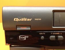 Vintage Quasar VHQ760 VHS VCR - Included Manual on CD, Video cable