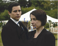 ROBERT JAMES-COLLIER SIGNED AUTHENTIC 'DOWNTON ABBEY' 8X10 PHOTO D COA TV ACTOR