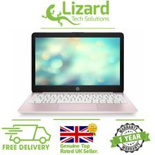 "HP Stream 11-ak0000na 11.6"" 32GB 2GB Slim Lightweight Pink Windows 10 Laptop"