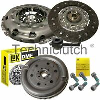 LUK CLUTCH KIT, CSC, DUAL MASS FLYWHEEL FOR VW PASSAT CC 2.0 TDI
