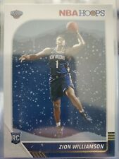 2019-20 NBA Hoops Gold Foil Zion Williamson RC. #258 SSP! Winter Holiday