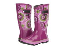 Bogs Boot Rain Pansies Girls toddler boots berry pink size 8 EU 24 NEW in BOX