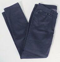 prAna Womens 10/30 (Act 34x32) Slim Taper Leg Stretch Chino Pants Charcoal Gray