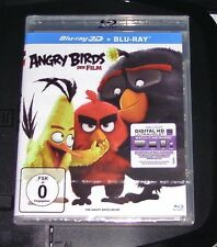 ANGRY BIRDS DER FILM 3D BLU-RAY + BLU-RAY FAST SHIPPING NEW & VINTAGE