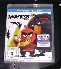ANGRY BIRDS DER FILM 3D BLU RAY + BLU RAY SCHNELLER VERSAND NEU & OVP