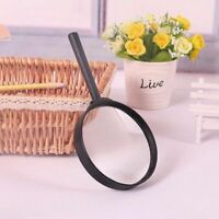 Magnifying Glass 75mm Magnifier Reading Large Lense UK Handheld Pockey Eye Aid